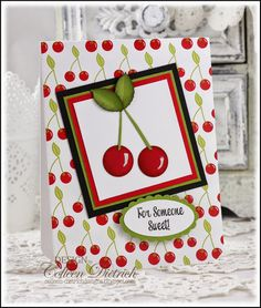 images about CARDS-Fruit-Cherries Cherries