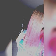 First courageous change! Pink hair!