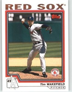 2004 Topps #213 Tim Wakefield - Boston Red Sox (Baseball Cards) by Topps. $0.88. 2004 Topps #213 Tim Wakefield - Boston Red Sox (Baseball Cards)