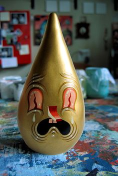 El Guapo the Golden Tear Drip by travits, via Flickr