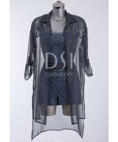Worn by Helen in rumba 395111 Hemetite Latin Dress | DSI London