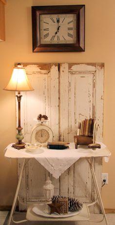 LOVE my vintage doors