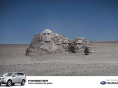 Subaru:  Mount Rushmore