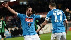 Napoli vinder og sætter pres på konkurrenterne!