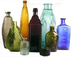 Bill Lindsey discusses antique bottles, including mouth blown bottles, bitters, figurals, inks, medicines, flasks, and many other varieties....