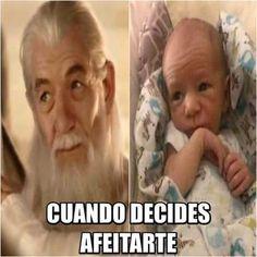 ★★★★★ Memes chistosos para el chat de facebook: Después de afeitarte I➨…