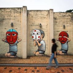 Boring Buildings transforms into art (32 photos) – Seth a Collection Grafitti Street, Street Art Utopia, Powerful Pictures, Perspective Art, Gwangju, Creative Industries, French Artists, Street Artists, Urban Art
