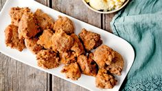 Rice Fritters With Orange Blossom Custard Recipe - NYT Cooking