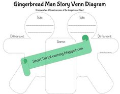 Man gingerbread girl venn diagram rubric auto electrical wiring a freebie for you to use with the gingerbread boy and the rh pinterest com venn digaram gingerbread girl venn diagram ccuart Choice Image