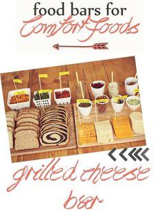 The Bliss Diaries: Pinterest Interest: Food Bar Inspiration