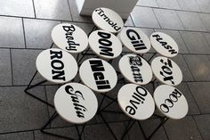 Letraset book 1989, font name stools | studio myerscough | +44 (0)20 7729 2760