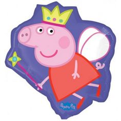 This Shape Peppa Pig Crown Foil Balloon is great for your Peppa Pig themed party! Includes 1 foil balloon measuring 53 x Self sealing balloon. Make sure you check out our range of Peppa Pig products in store! Peppa Pig Balloons, Disney Balloons, Helium Balloons, Foil Balloons, Peppa Pig Party Supplies, Balloon Shop, Wholesale Party Supplies, Shops, Hen Party Accessories