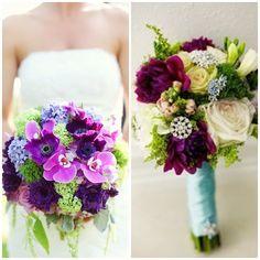 Una guía completa con las mejores flores y ramos de novia, ramos de novia naturales en color blanco, rosa y rojo, violeta verde y amarillo y mucho más!!!