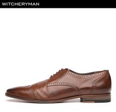 Witchery MAN Brogue Dress Shoe Make A Wish, Brogues, A Good Man, Oxford Shoes, Dress Shoes, Lace Up, Guys, Christmas, Men