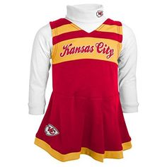 Kansas City Chiefs Cheerleader Costume