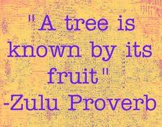 Zulu Proverb