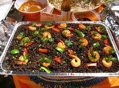 Haitian food - Diri Djon Djon. BLACK RICE
