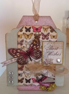 Craftwork Cards Botanica kit Jackies house of cards