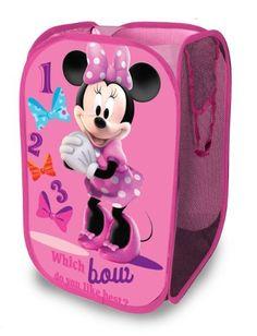 Disney Minnie Mouse Pop Up Hamper Disney,  14.92  http://www.amazon.com/dp/B008CNL3TE/ref=cm_sw_r_pi_dp_n0Mktb1ZF7MN79FK