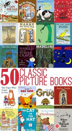 50 Great Classic Picture Books (from Your Own Childhood) to Read Aloud with Children of All Ages