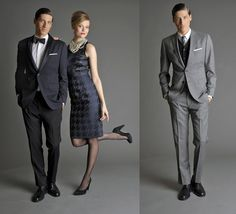 Banana Republic 'Mad Men' collection. Wish I could pull this stuff off.