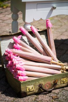 pink parasols