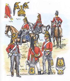 Great British, British Army, Empire, Waterloo 1815, British Uniforms, Napoleonic Wars, Soldiers, Revolution, Britain