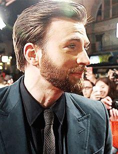 """Chris Evans at """"Captain America: The Winter Soldier"""" Paris Premiere at Le Grand Rex on 14.03.17"""