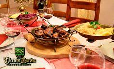 Pochutnajte si na výbornej domácej pečenej kačke v príjemnom prostredí reštaurácie U Čierneho Baróna len za 17,50 €.