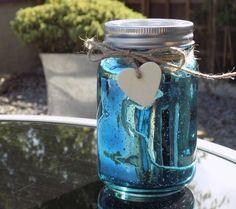 Firefly Mason Jar - Blue