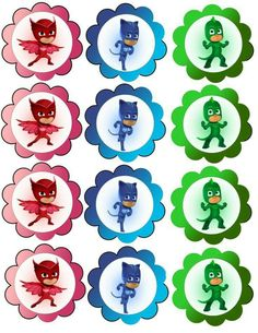 Sweet table dei Pj Masks