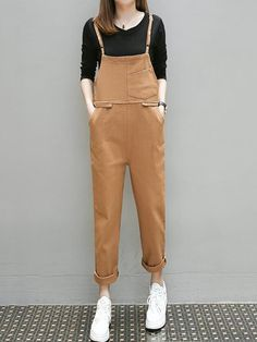 Casual Women Overalls Wide Leg Pants Long Trousers Female Loose Rompers Vocation Dungarees Vintage Cotton Linen Jumpsuits Agreeable To Taste Jumpsuits