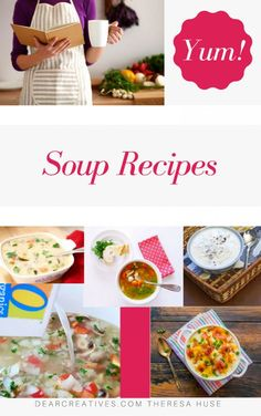 Are you ready for soup season? Warm up to a bowl of soup there are so many easy soups to make on here. Perfect for soup time. Best Soup Recipes, Chicken Soup Recipes, Chili Recipes, Dinner Recipes, Easy Soups To Make, Kinds Of Soup, Vegetarian Soup, Bowl Of Soup, Meal Planning