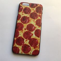 iPhone 6/6 Plus Pizza Case NWT!                                                                                                                                             Reasonable Offers Only please  •Bundle any 2 Cases for $13• • Bundle any 3 for $18•                                                        Please Follow :  Instagram: vinyl_by_rachel Pinterest: rachelp2426 Etsy: monogramdecalqueen Accessories Phone Cases