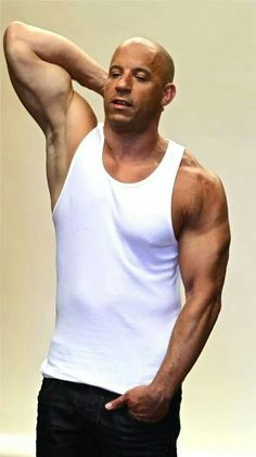 Celebrities - Vin Diesel Photos collection You can visit our site to see other photos. Michelle Rodriguez, Paul Walker, Dwayne Johnson, Fast And Furious, Vin Diesel Shirtless, Dominic Toretto, Saving Private Ryan, Hollywood Actor, Hairy Men