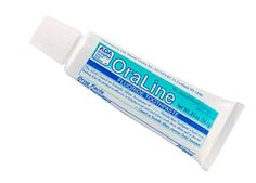 Get a free sample of OraLine Mint Toothpaste here