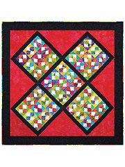 Pieced Baby & Kids Quilt Patterns - Tied Up Quilt Pattern