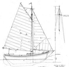 Old Gaffer Designer: Peterson Associates Inc. Skill Level to Build: Moderate 18′ double ended, auxiliary daysailer. Gaff rigged sloop with large cockpit and small cudy forward. Traditional carvel construction with outboard rudder and ballast keel. Many boat built to this design over the years including some by amateur...