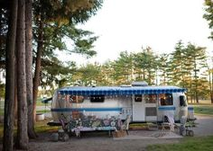 Woman's Anthropologie Airstream Renovation. This little home has been named the Wandering Star. I think you might agree that you've never seen an Airstream that probably looks and feels like a cozy home more than this one. http://tinyhousetalk.com/womans-anthropologie-airstream-renovation/