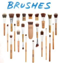 Two Brush Musts from the Everyday Minerals Brushes Vegan Brush Collection - Product Girl
