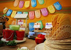 Mexican Fiesta Birthday Party Ideas | Photo 2 of 22 | Catch My Party
