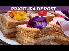 Prajitura de post - YouTube The Creator, Cheesecake, Nicu, Desserts, Youtube, Diets, Tailgate Desserts, Deserts, Cheesecakes