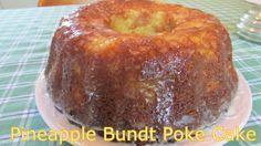 Pineapple Bundt Poke Cake | Moore or Less Cooking Food Blog