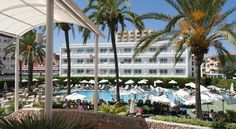 Hipotels Don Juan Cala Millor Situated right on the beachfront with breathtaking Mediterranean views which you can enjoy from your private balcony, this hotel has a fantastic outdoor pool and serves a great choice of cuisine.