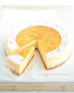 Lemon cheesecake with mascarpone