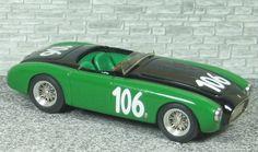 Ferrari 212 Export Spyder Vignale - Coppa D'Oro delle Dolomiti 1951 #106 - U. Marzotto - Alfa Model 43