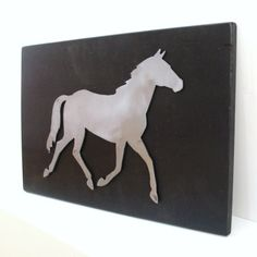 Wall Decor Metal Horse Art Decorative Wall by baconsquarefarm, $50.00