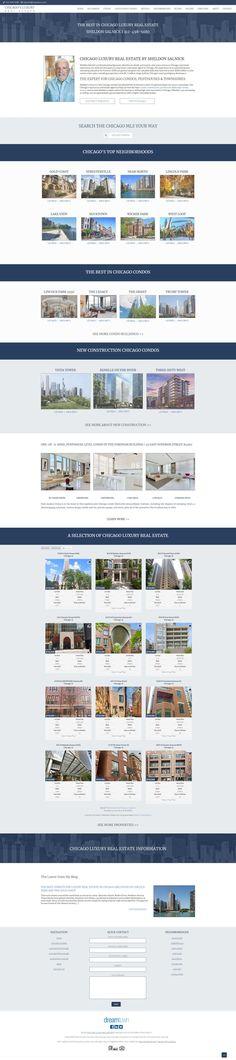 Custom Real Estate Website Design Real Estate Website Design, Luxury Real Estate, Custom Design