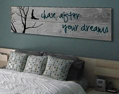 Barn Wood crafts - If you can DREAM it, You can DO it Walt Disney Inspirational Quote on Reclaimed Barn Wood Wall Art Pallet Crafts, Barn Wood Crafts, Diy Crafts, Diy Holz, Painting On Wood, Large Painting, Painting Quotes, Art Quotes, Wood Paintings