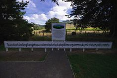 Go NZ! Longest Place Name in the World - In Te Reo Maori language Long White Cloud, Kiwiana, Honeymoon Ideas, Place Names, New Zealand Travel, South Island, Love Home, Countries Of The World, Road Trips